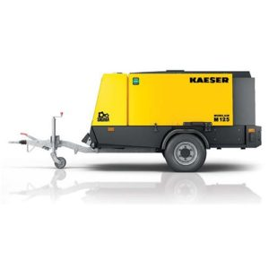 Large portable compressors up to 600 cfm